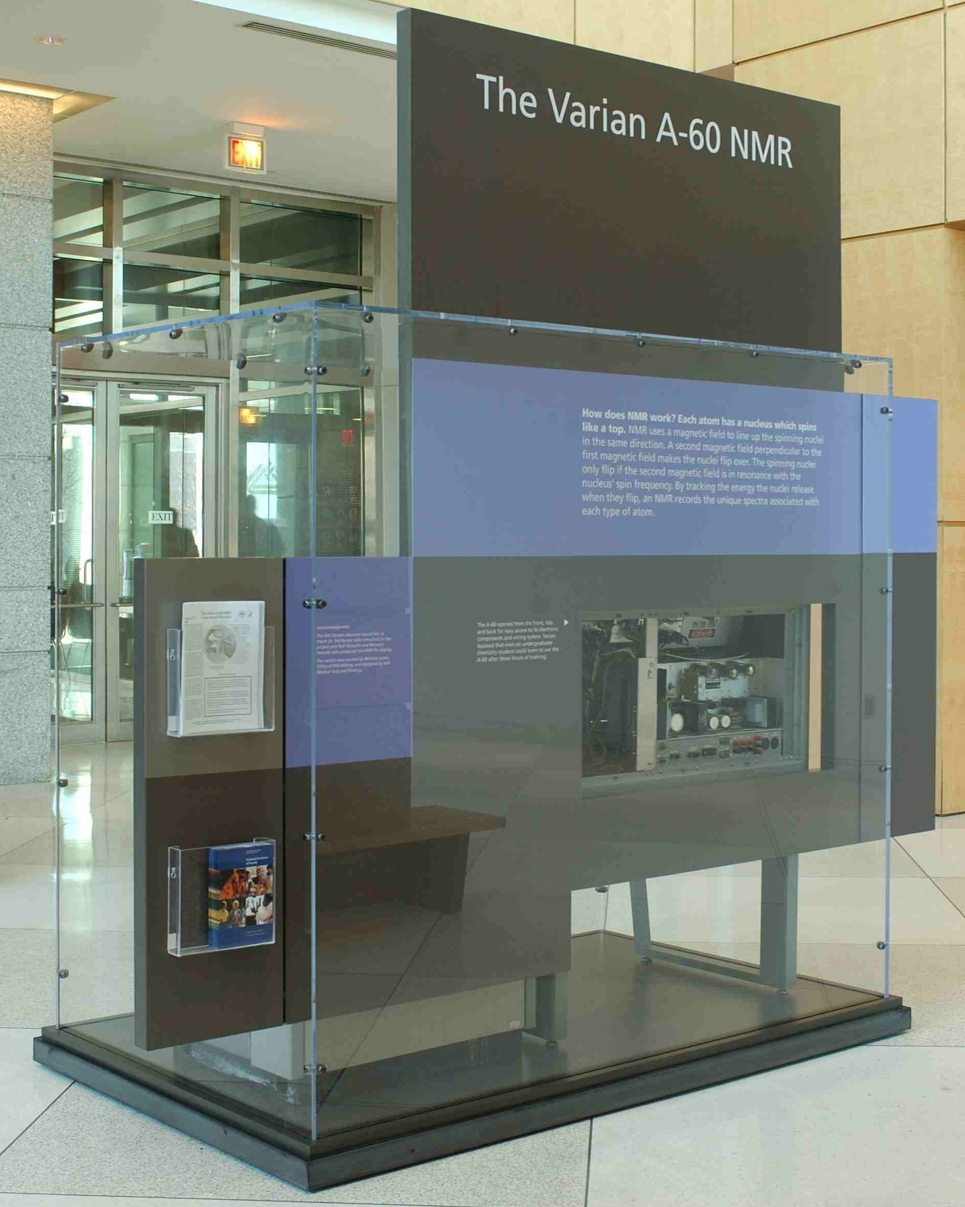 photo of the museum display