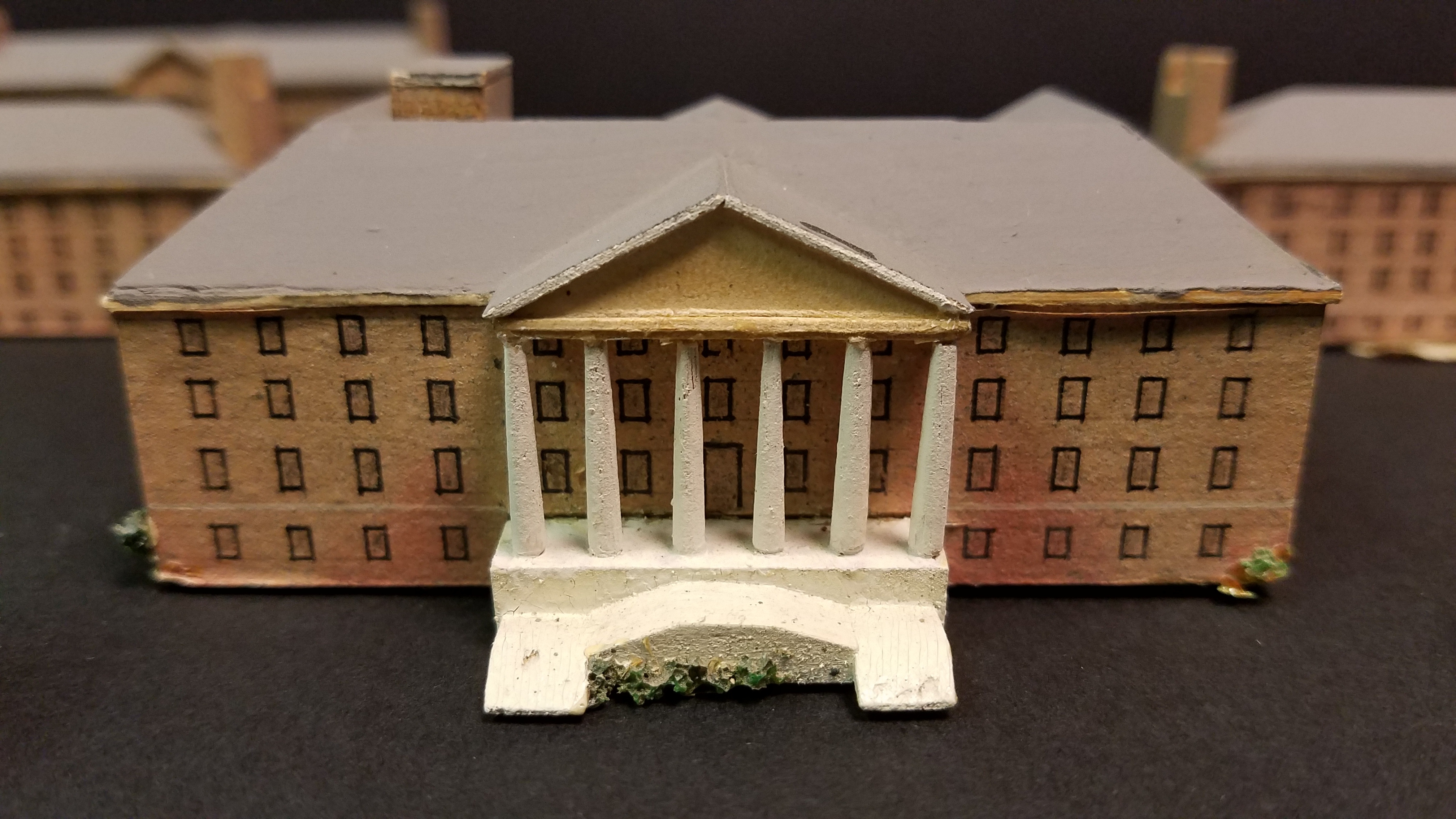 Paper model of Building 1