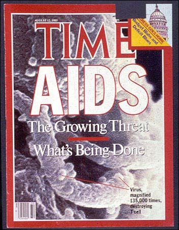 An article in Time reflected the growing threat of AIDS and described the government's response