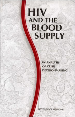 Cover of the book HIV and the Blood Supply