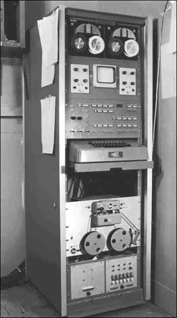 Photograph of Laboratory Instrument Computer (LINC) from its conception in the Lincoln Laboratory of the Massachusetts Institute of Technology