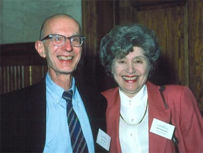 Alan Rabson (Deputy Director of NCI) and Ruth Kirschstein (former Acting Director of NIH).