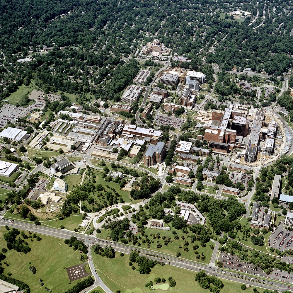 Aerial View of the NIH Campus